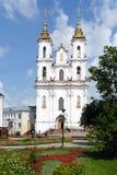 比拉罗斯大教堂横向夏天维帖布斯克 库存图片