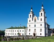 比拉罗斯教会正统主要的米斯克 免版税库存图片