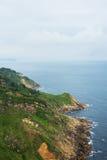 比斯开湾海湾海岸,西班牙 库存照片