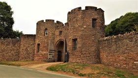 比斯顿城堡英国 库存图片