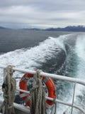 比格尔海峡乘驾 图库摄影