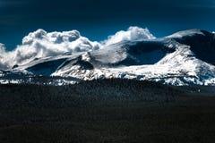比格霍恩山脉怀俄明 库存照片