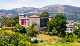 比米安索城堡  拉科鲁尼亚队,西班牙 免版税库存照片