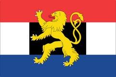 比荷卢三国标志 库存图片