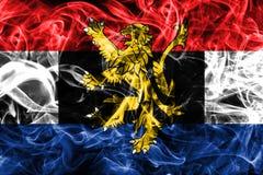 比荷卢三国烟旗子,比利时的政治经济联合,下面 免版税库存照片