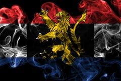 比荷卢三国烟旗子,比利时的政治经济联合,下面 免版税库存图片