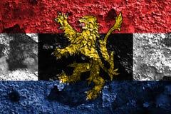比荷卢三国难看的东西旗子,比利时, Nethe的政治经济联合 免版税库存图片