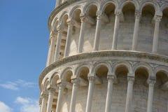 比萨倾斜的塔 免版税库存图片