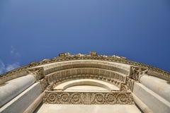 比萨大教堂的洗礼池  库存图片