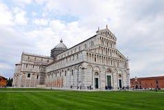 比萨大教堂 库存图片