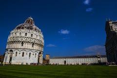 比萨宗教复合体大教堂  免版税库存照片