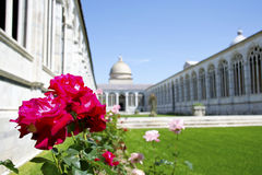 比萨巨大的公墓  免版税库存照片