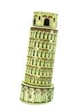 比萨斜塔模型  图库摄影