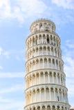 比萨斜塔,托斯卡纳,意大利 免版税库存照片
