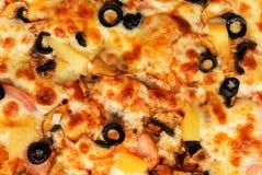 比萨背景视图 图库摄影