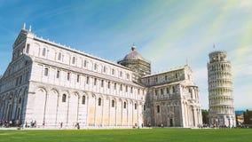 比萨,意大利建筑学  免版税库存照片