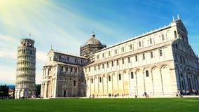 比萨,意大利建筑学  库存照片