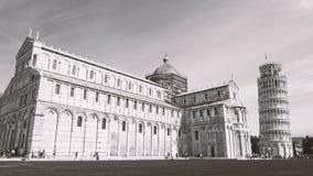 比萨,意大利建筑学  库存图片