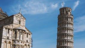 比萨,意大利建筑学  免版税库存图片