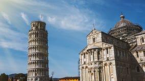 比萨,意大利建筑学  免版税图库摄影