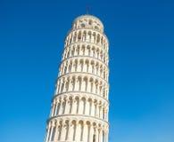 比萨,意大利斜塔 免版税图库摄影