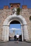 比萨,罗马斜塔  库存图片