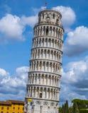 比萨-重要地标著名塔在托斯卡纳 库存照片