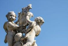 比萨Fontana dei Putti 03 库存图片