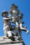 比萨Fontana dei Putti 04 库存图片