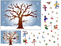 比赛圣诞节 免版税库存图片