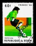 比赛场面, 1998年世界杯足球赛serie,大约1996年 库存照片