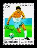 比赛场面, 1998年世界杯足球赛serie,大约1998年 库存照片