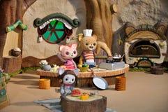 比赛家庭玩具 免版税图库摄影