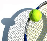 比赛网球 免版税库存图片