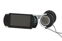 比赛耳机大可移植的岗位 免版税库存照片