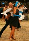 比赛舞蹈热病 免版税图库摄影