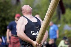 比赛高地苏格兰 免版税图库摄影