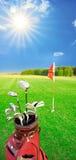比赛高尔夫球 免版税库存图片