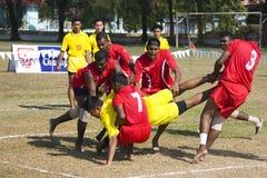 比赛kabaddi 免版税库存照片