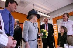 比阿特丽克斯荷兰女王/王后 免版税库存照片