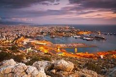 比雷埃夫斯,希腊港  免版税库存照片