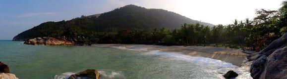比Sadet海滩酸值Phangan泰国 免版税库存照片