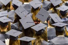 毕业典礼举行日 免版税库存图片