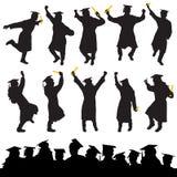 毕业向量 免版税库存图片