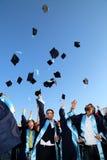 毕业庆祝 库存图片