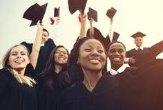 毕业成就学生学校学院概念 免版税库存图片