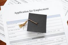 工作申请书 免版税库存图片