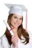 毕业生青少年 免版税库存照片
