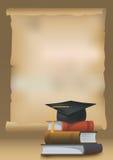 毕业背景 免版税图库摄影
