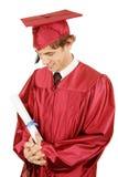 毕业自豪感 库存图片